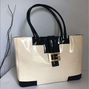 Authentic Gucci patent leather bag